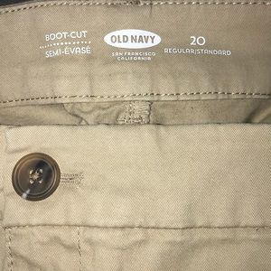 OLD NAVY BOOTCUT